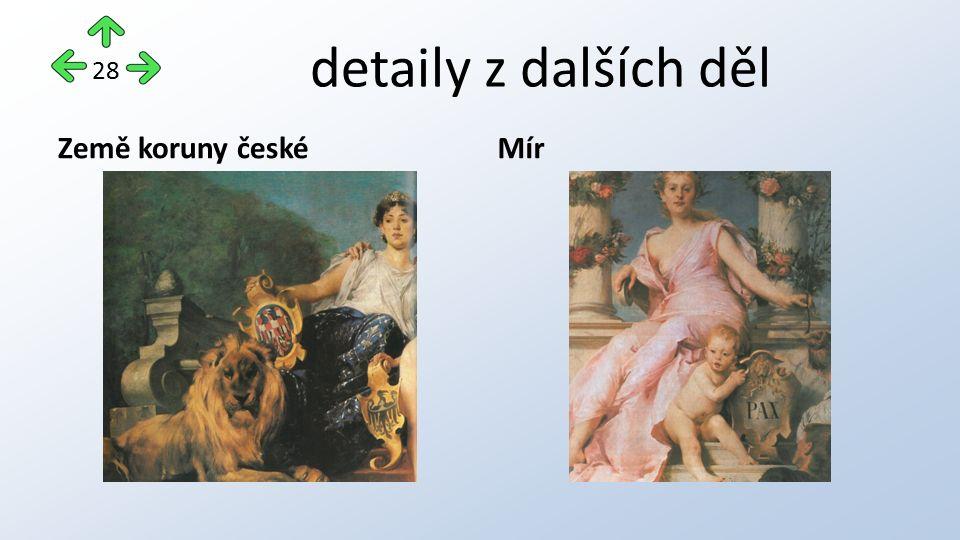 detaily z dalších děl Země koruny českéMír 28
