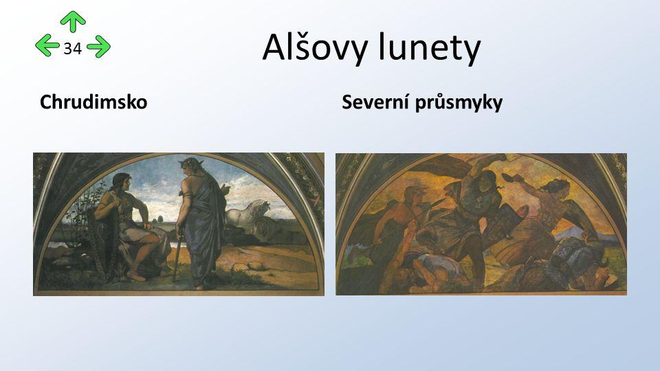 Alšovy lunety ChrudimskoSeverní průsmyky 34