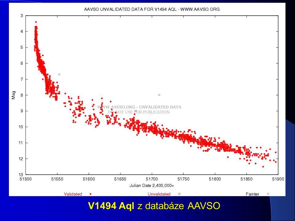 V1494 Aql z databáze AAVSO
