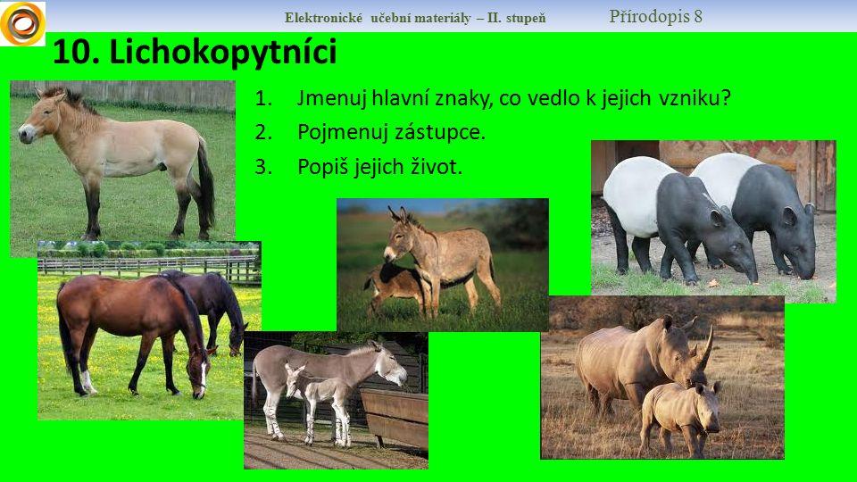 Elektronické učební materiály – II.stupeň Přírodopis 8 11.