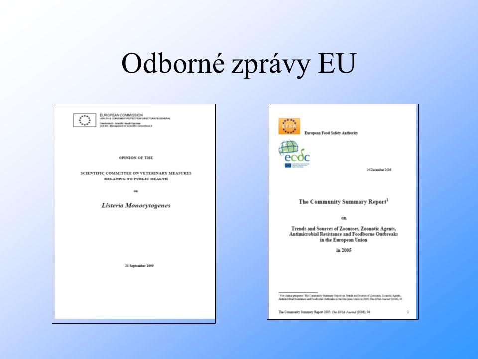 Odborné zprávy EU
