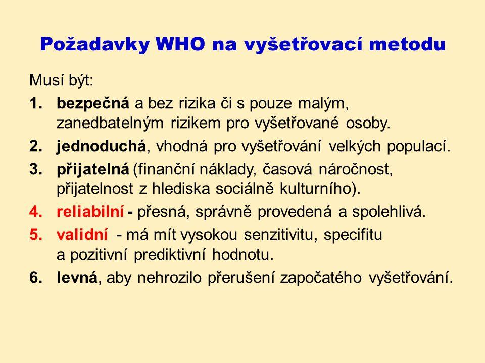 Screeningové programy v ČR Prenatální testy (UTZ, biochemie) na VVV Novorozenecký screening –z tzv.