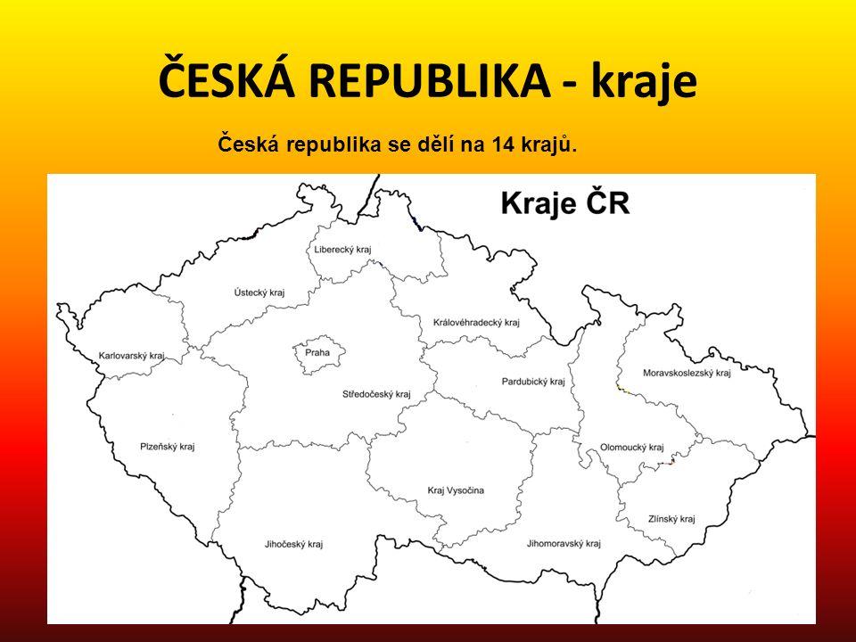 ČESKÁ REPUBLIKA - kraje 1.