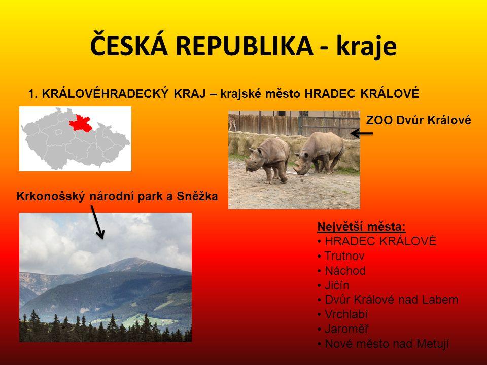 ČESKÁ REPUBLIKA - kraje 2.