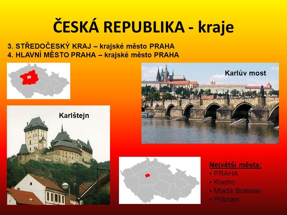 ČESKÁ REPUBLIKA - kraje 5.