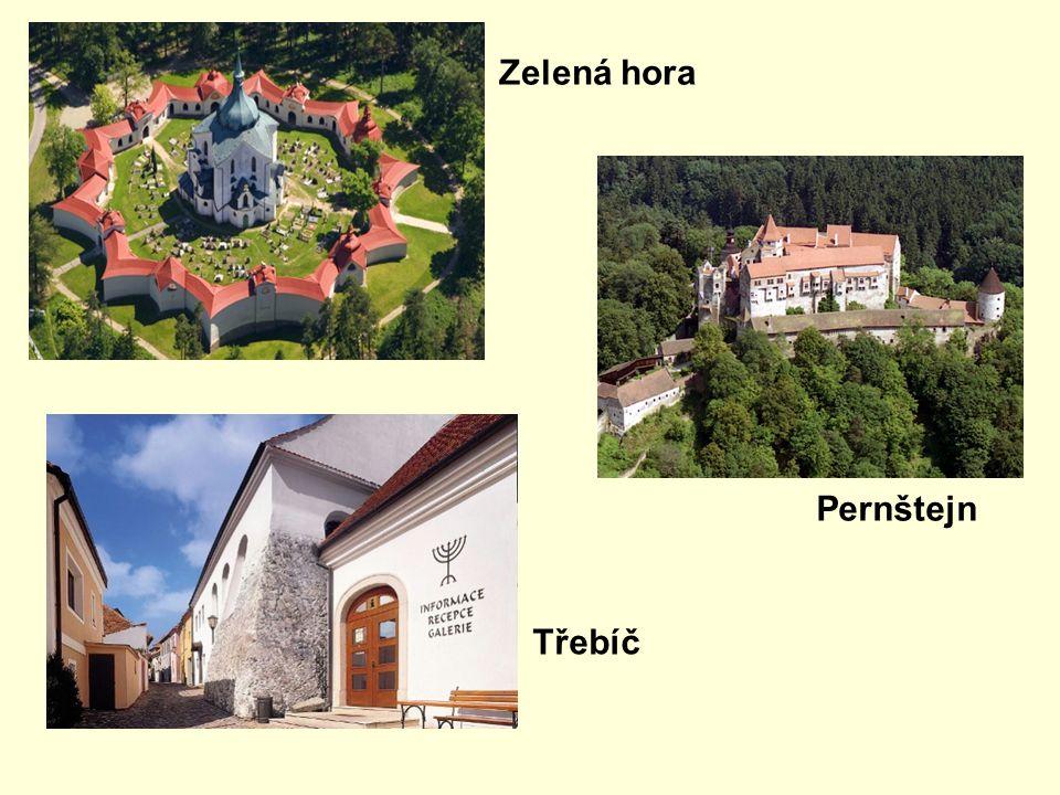 Zelená hora Třebíč Pernštejn