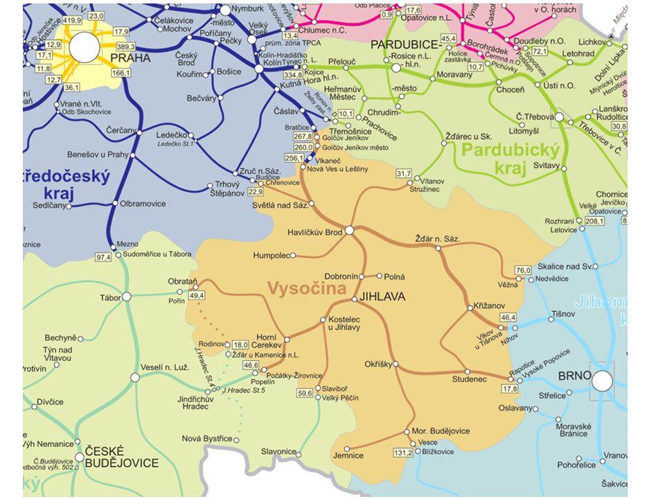 Obyvatelstvo V Kraji Vysočina žije cca 515 000 obyvatel.