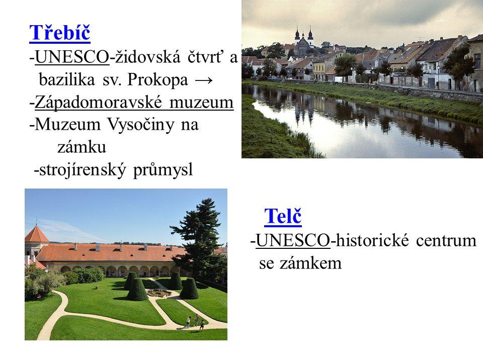 Třebíč - UNESCO-židovská čtvrť a bazilika sv.
