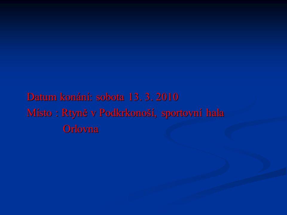 Účastníci turnaje : TJ Baník Rtyně FK Trutnov TJ Baník Žacléř FK Poříčí u Trutnova FK Náchod SK Sparta Úpice SK Horní Staré Město Trutnov So Malé Svatoňovice
