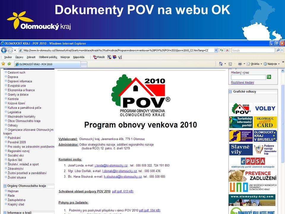 Dokumenty POV na webu OK