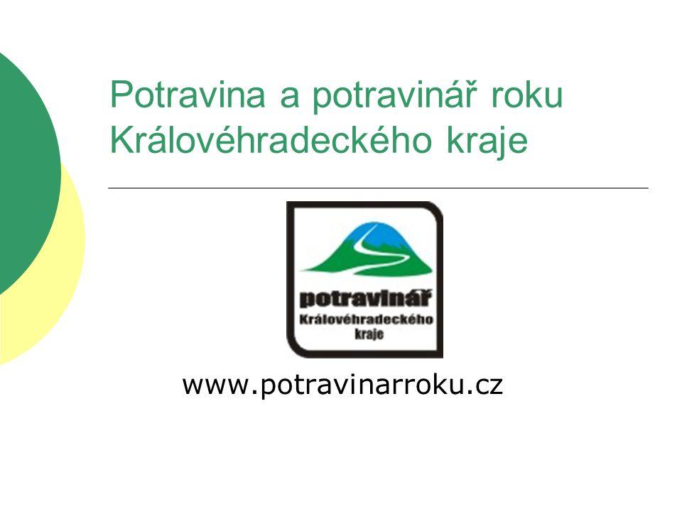 Potravina a potravinář roku Královéhradeckého kraje www.potravinarroku.cz