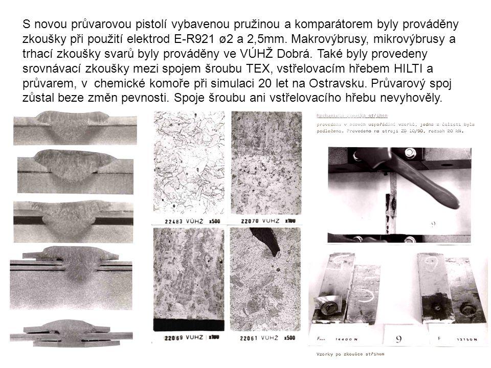 """prototyp První prototyp průvarové pistole STIFO (Štíhel- Fojtík), byl vystaven a předváděn na výstavě """"Země živitelka v Českých Budějovicích roku 1983."""