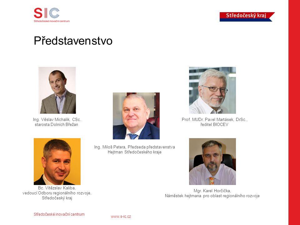 Středočeské inovační centrum www.s-ic.cz Představenstvo Bc.