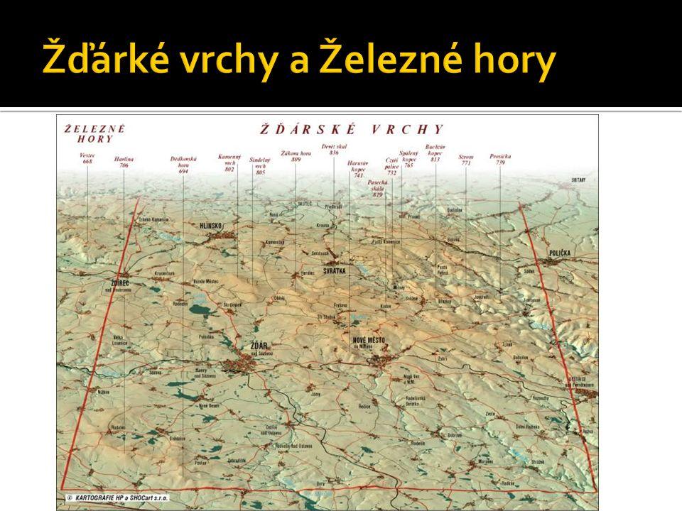  Pramení zde řeky :  Sázava, Oslava, Jihlava a Svratka  Řeka Sázava odvádí vodu přes Vltavu a Labe do Severního moře.