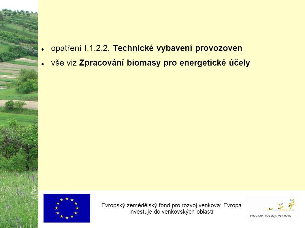 opatření I.1.2.2.