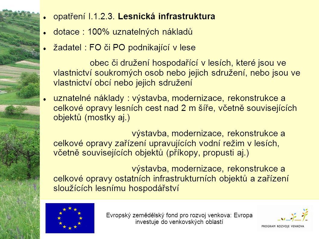 opatření I.1.2.3.
