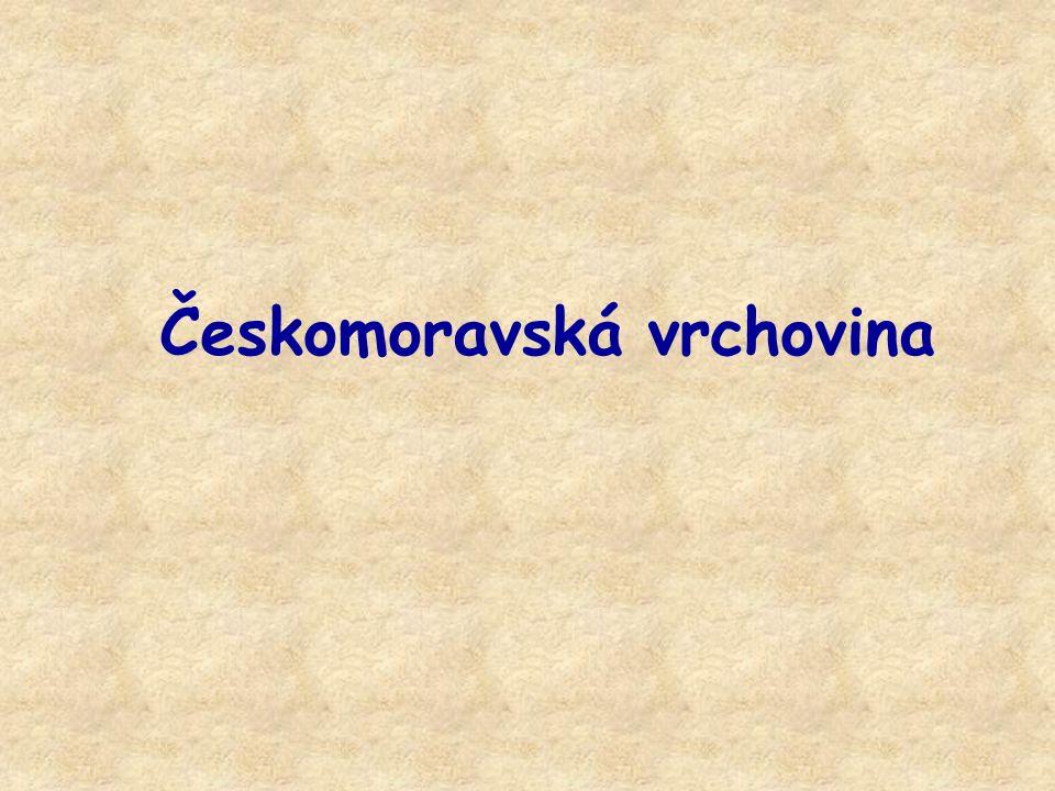 Vodstvo Hlavní evropské rozvodí Do Čech odtékají –C–Chrudimka –S–Sázava –Ž–Želivka –S–Svratka –O–Oslava –J–Jihlava –J–Jevišovka –M–Moravská Dyje Na Moravu odtékají Vodní nádrže –V–Vírská přehrada – na Svratce –N–Nádrž na Želivce –D–Dalešická přehrada – na Jihlavě Dalešická přehrada