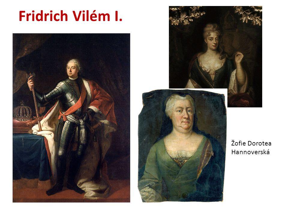 Fridrich Vilém I. Žofie Dorotea Hannoverská