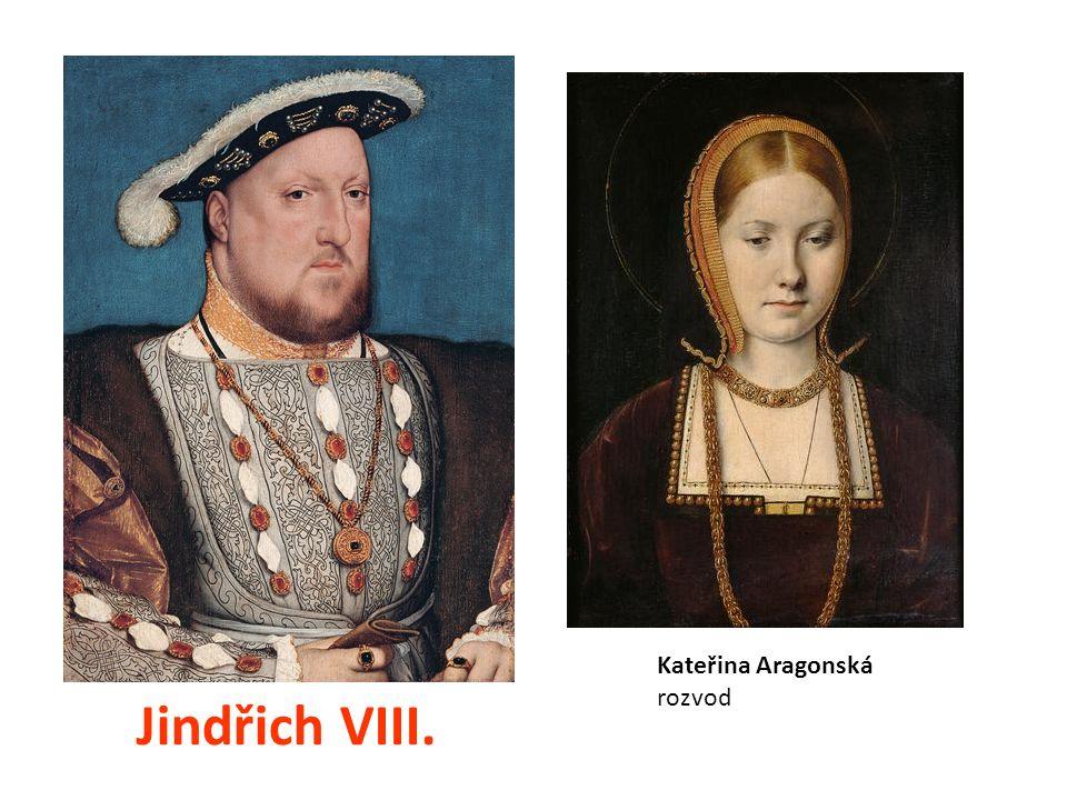 Jindřich VIII. Kateřina Aragonská rozvod