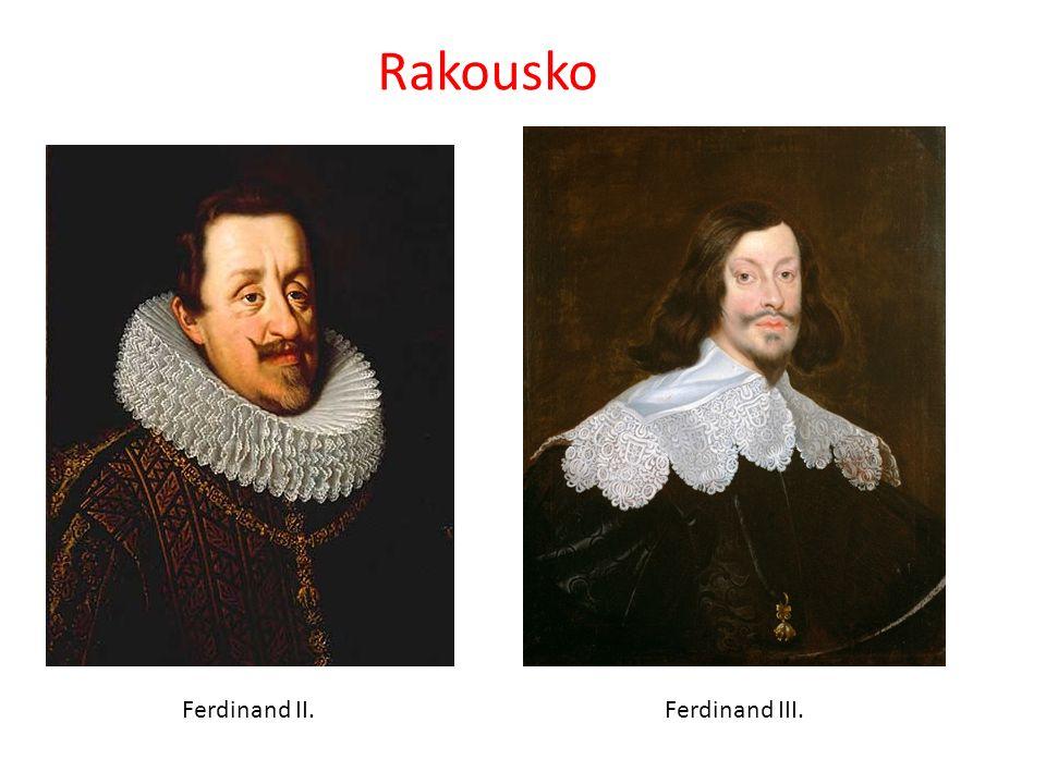 Rakousko Ferdinand II.Ferdinand III.