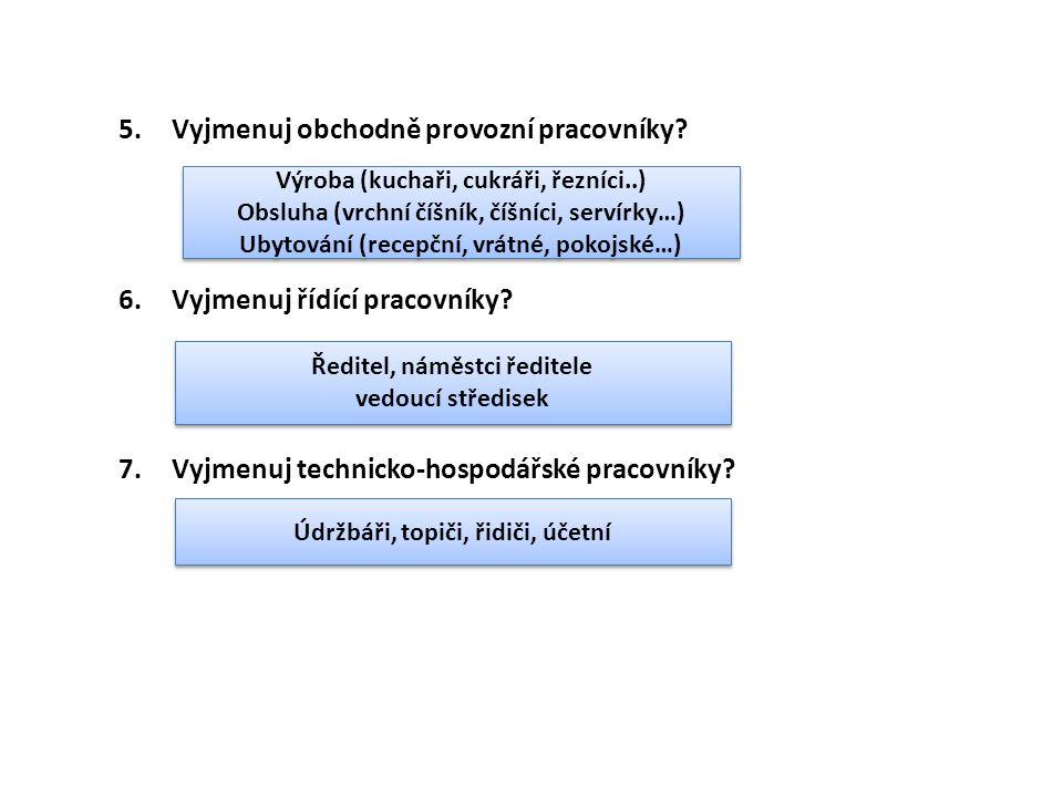 6. Řešené úlohy 1.Vyjmenuj úlohy personalistiky. 2.Princip trhu práce.