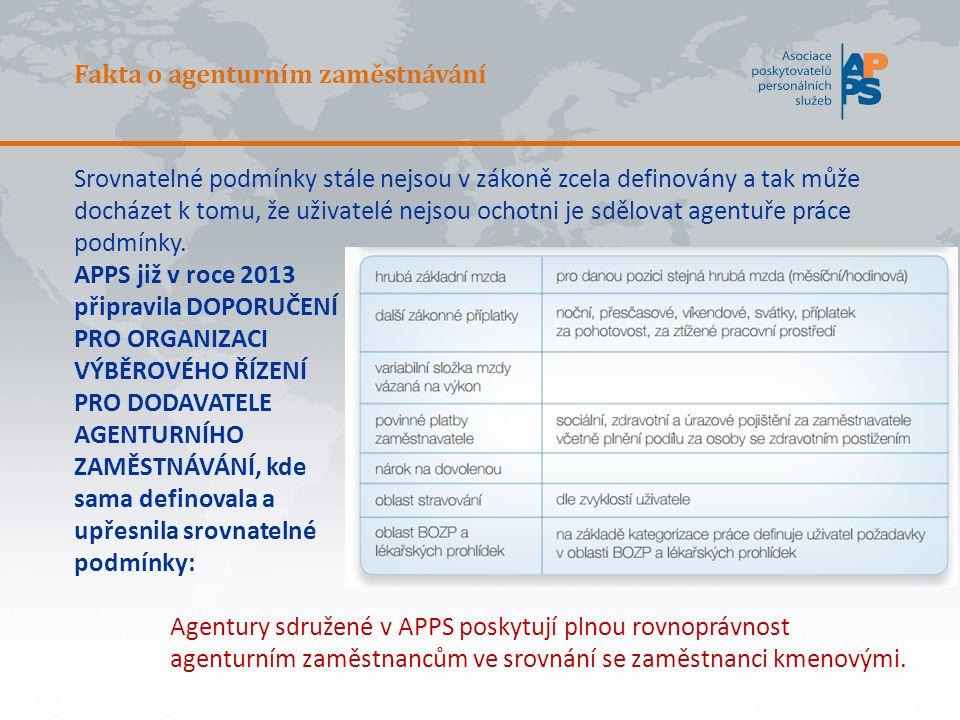 Fakta o agenturním zaměstnávání Pokud v podniku je uzavřena kolektivní smlouva, je platná pro všechny zaměstnance.
