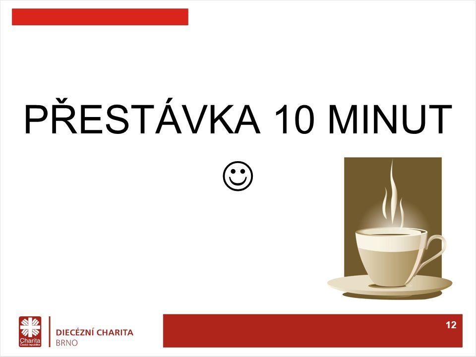PŘESTÁVKA 10 MINUT 12