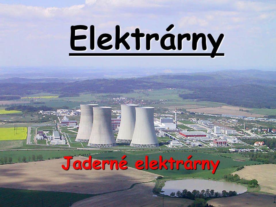 Specifika JE Odlišnosti od výroby v uhelných elektrárnách: *jaderné palivo je po celou dobu výroby uloženo v reaktoru *vysoká koncentrace energie v palivu -z 1 kg hnědého uhlí se vyrobí asi 1 kWh -z 1 kg jaderného paliva se vyrobí asi 1GWh *po štěpné reakci vznikají radioaktivní izotopy s dlouhým poločasem rozpadu  nelze s nimi libovolně zacházet a musí být zabezpečeny *u JE nelze skokem přerušit vývin tepla.