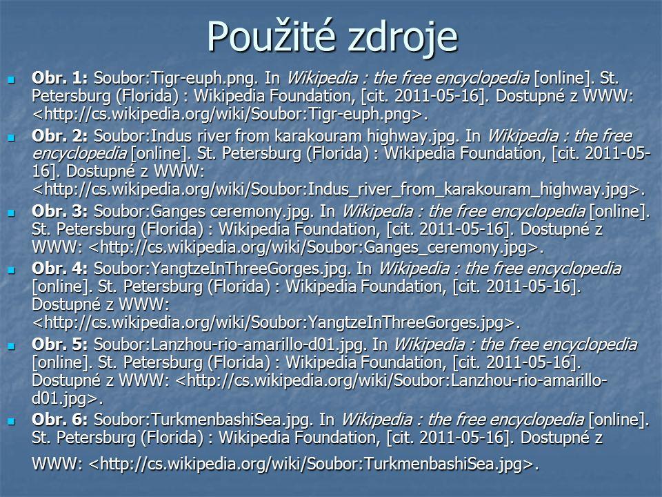 Použité zdroje Obr. 1: Soubor:Tigr-euph.png. In Wikipedia : the free encyclopedia [online].