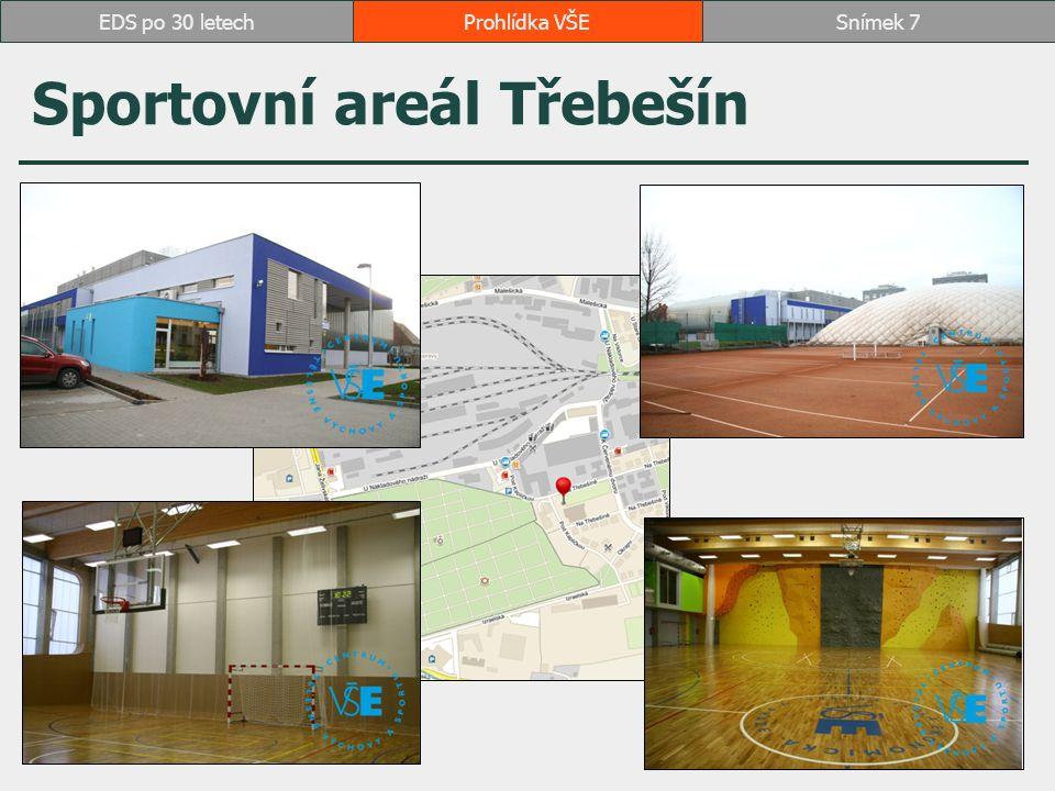 Sportovní areál Třebešín Prohlídka VŠESnímek 7EDS po 30 letech