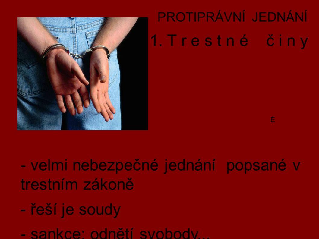 PROTIPRÁVNÍ JEDNÁNÍ 1.