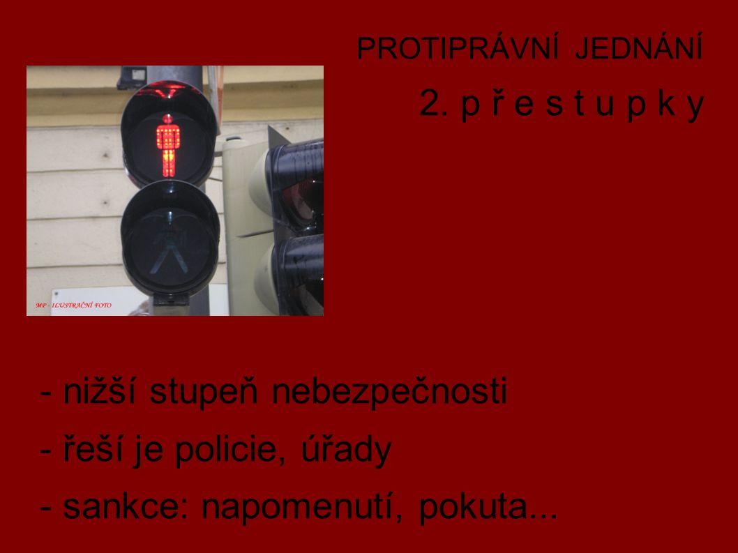 PROTIPRÁVNÍ JEDNÁNÍ 2.