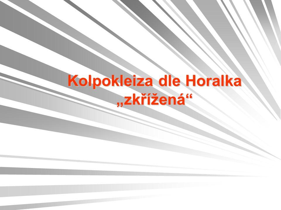 """Kolpokleiza dle Horalka """"zkřížená"""