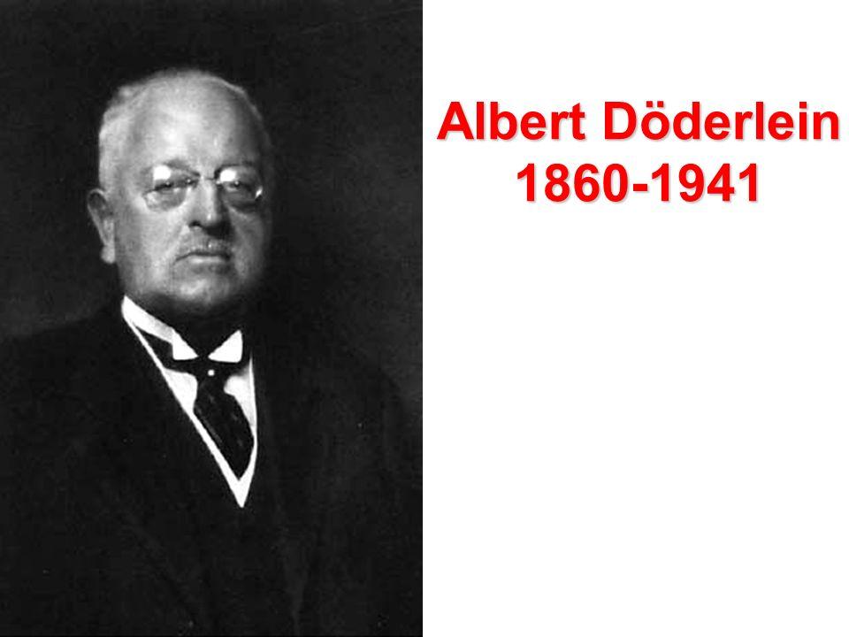 Albert Döderlein 1860-1941