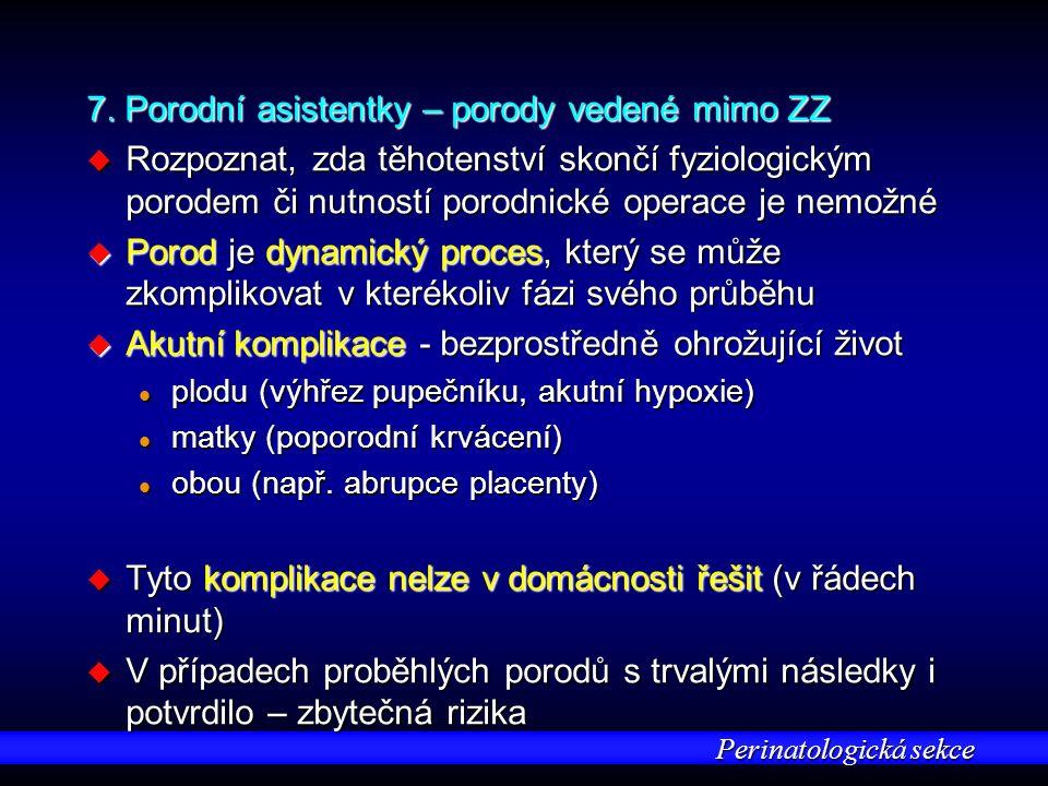 Perinatologická sekce 7.