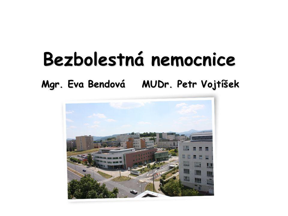 Bezbolestná nemocnice Mgr. Eva Bendová MUDr. Petr Vojtíšek
