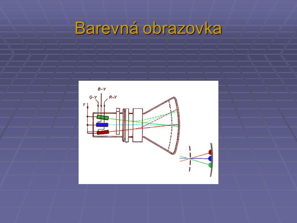 Barevná obrazovka