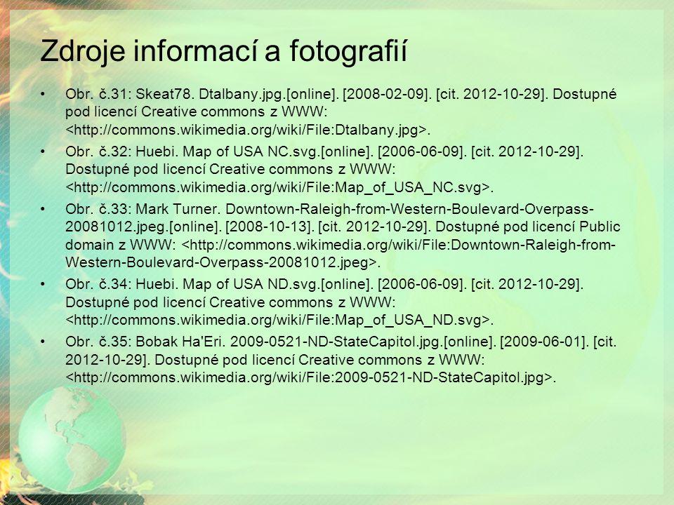 Zdroje informací a fotografií Obr. č.31: Skeat78.