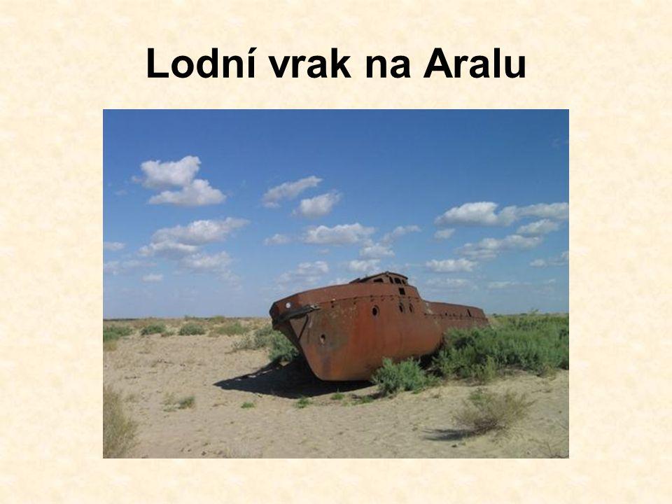 Lodní vrak na Aralu