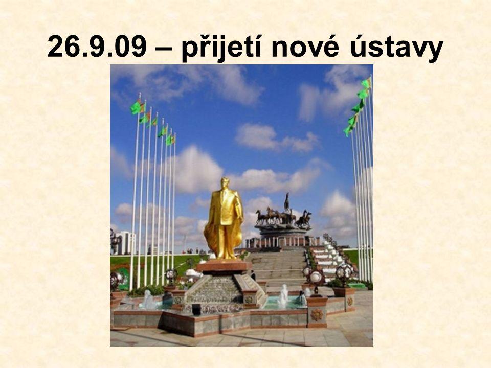 26.9.09 – přijetí nové ústavy