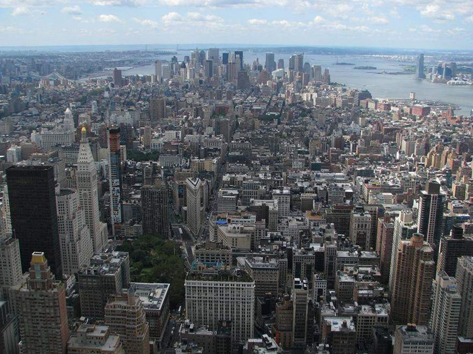 Manhattan is the most famous borough and it's where the tourists go.