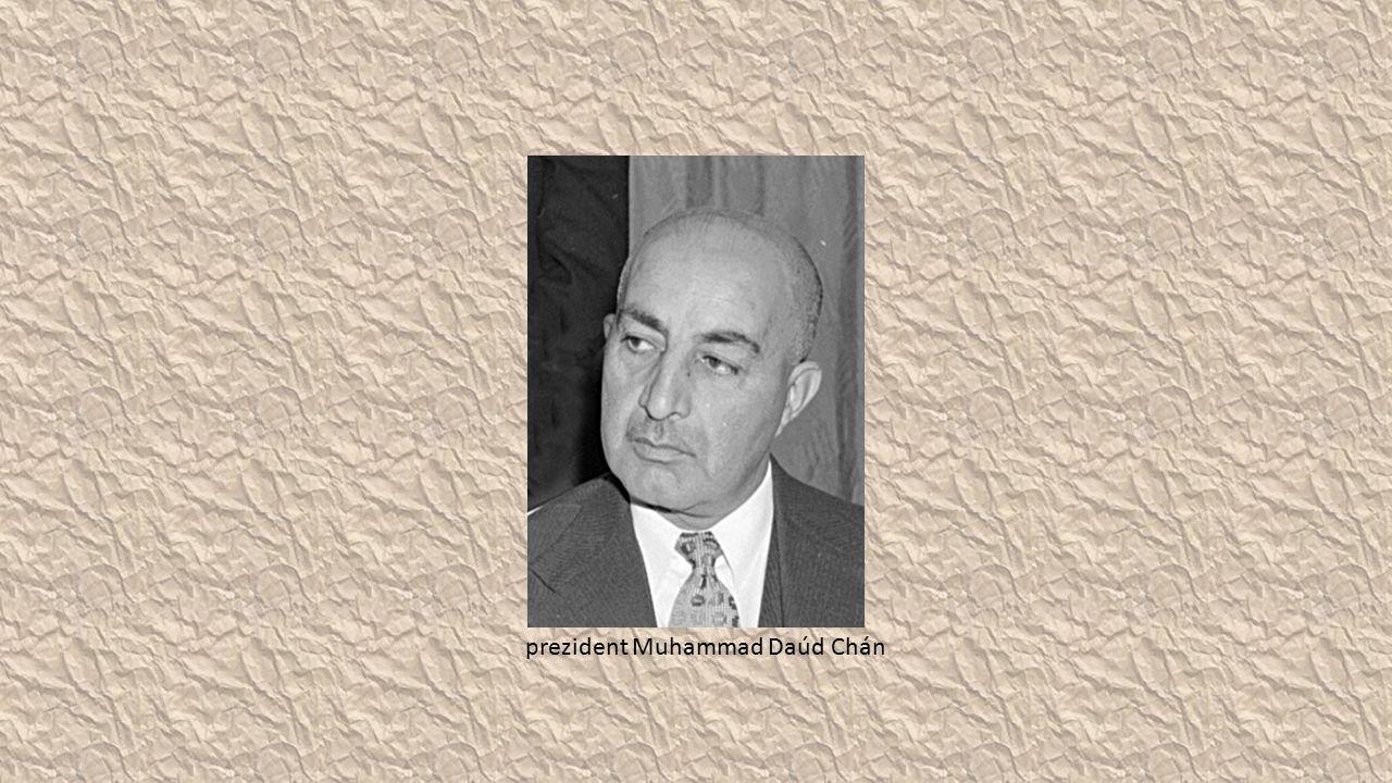 prezident Muhammad Daúd Chán