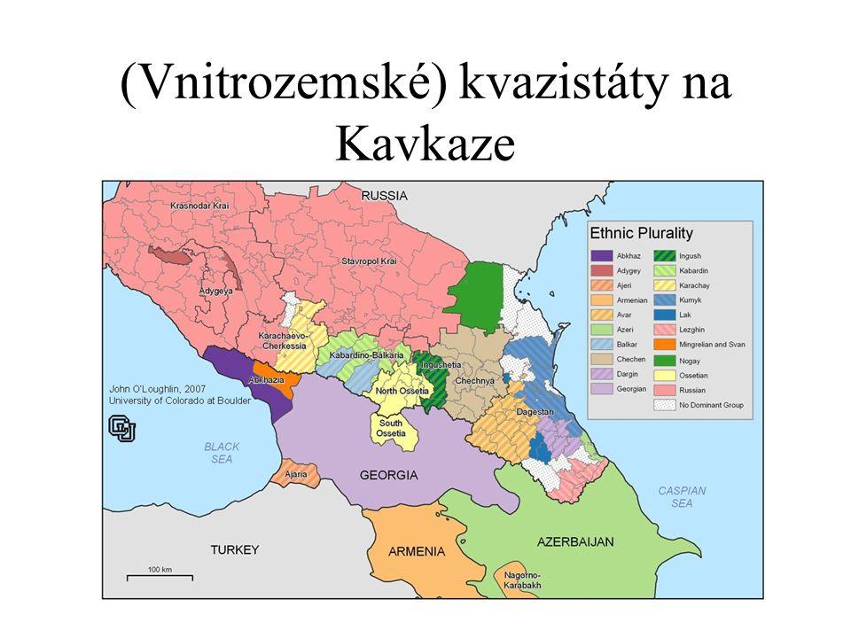 (Vnitrozemské) kvazistáty na Kavkaze