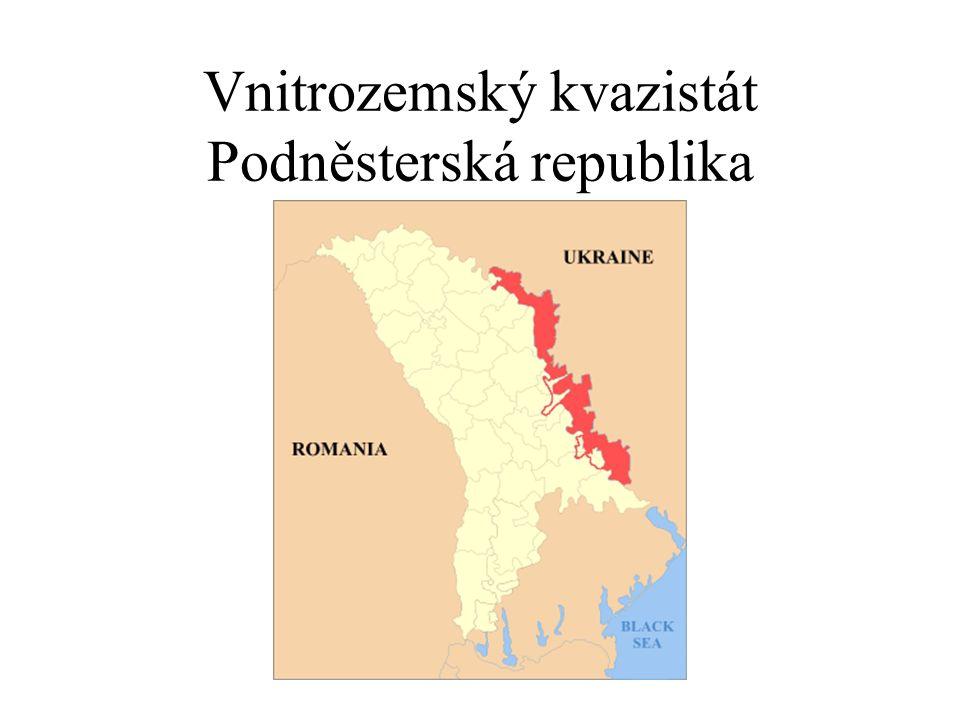 Vnitrozemský kvazistát Podněsterská republika