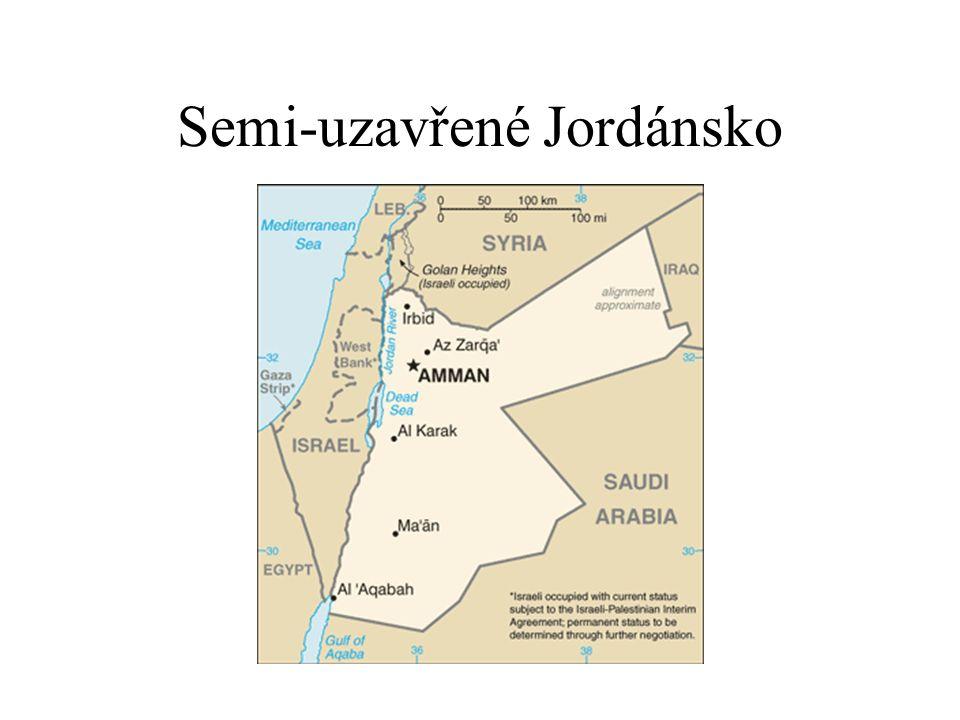 Semi-uzavřené Jordánsko