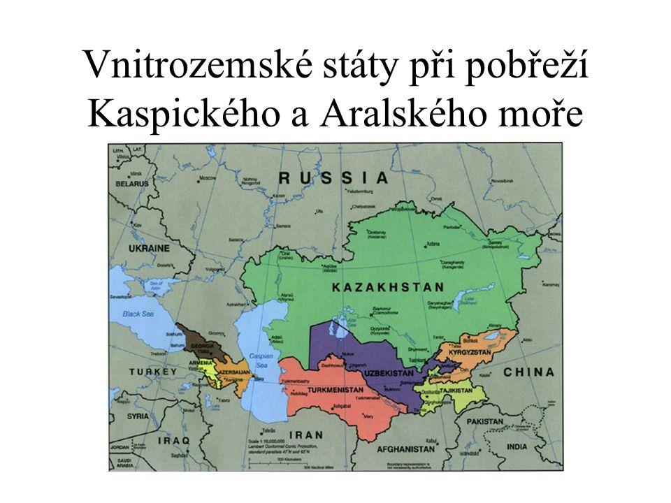 Vnitrozemské státy při pobřeží Kaspického a Aralského moře