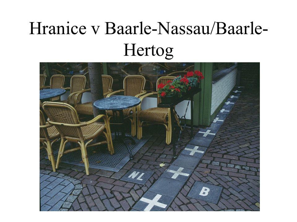 Hranice v Baarle-Nassau/Baarle- Hertog