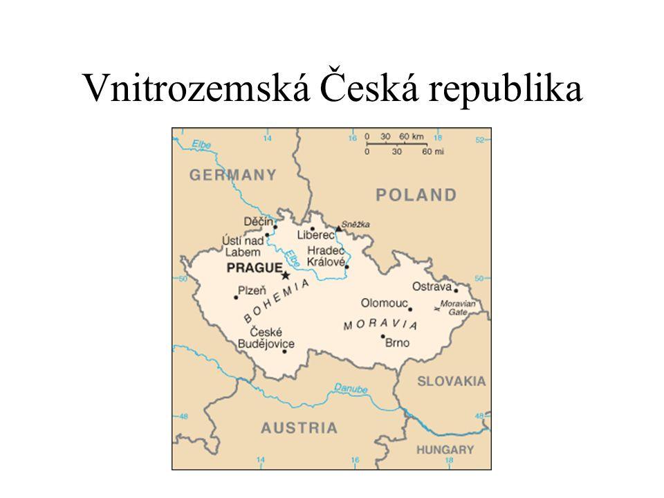 Vnitrozemská Česká republika