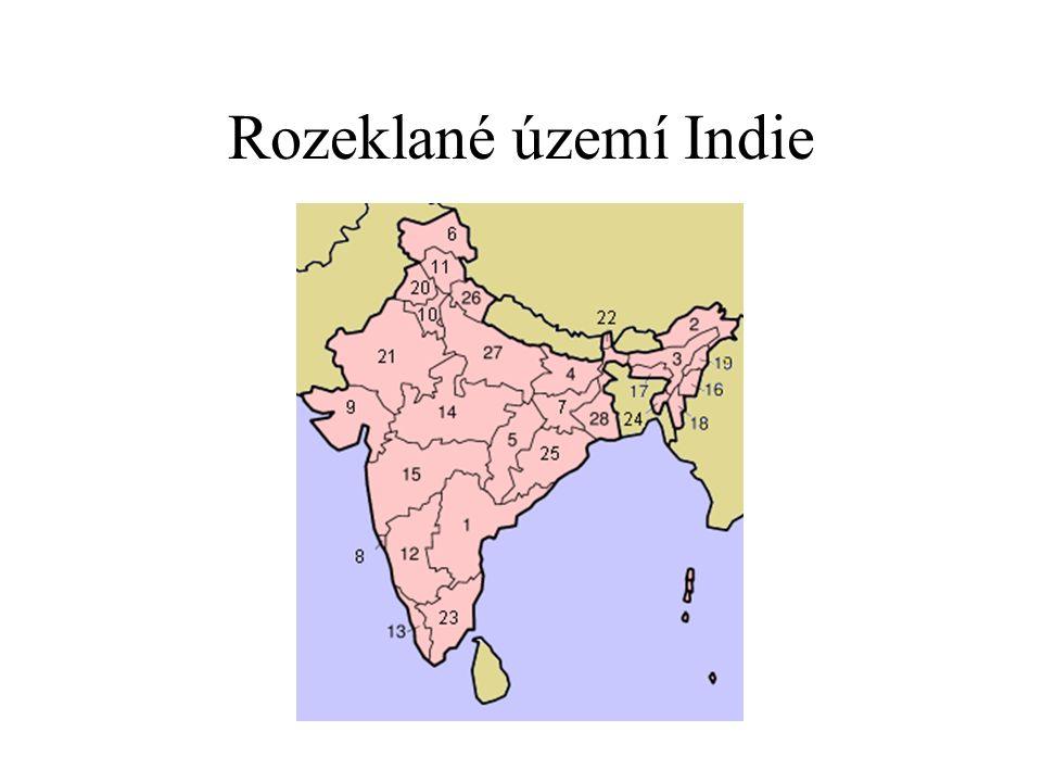 Rozeklané území Indie