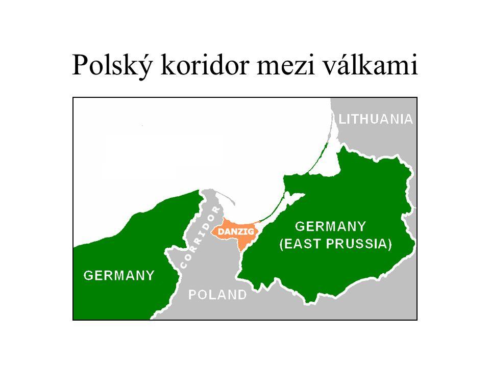Polský koridor mezi válkami